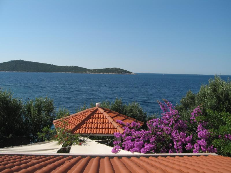 view from terrace - Apartmani Luka 2+2 - Sevid - Sevid - rentals