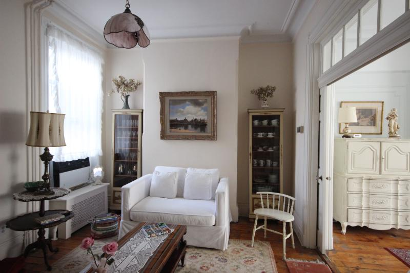 Living room - Great location 2BR in Greenpoint townhouse - Brooklyn - rentals