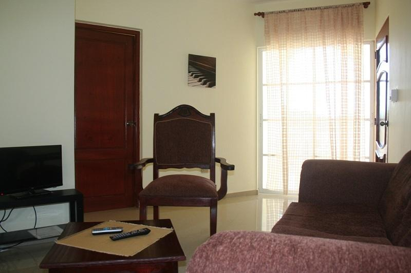Living room - Beach one-bedroom apartment with a/c - Puerto Plata - rentals