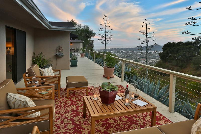 Riviera location offers memorable views - Riviera Canyon - Santa Barbara - rentals