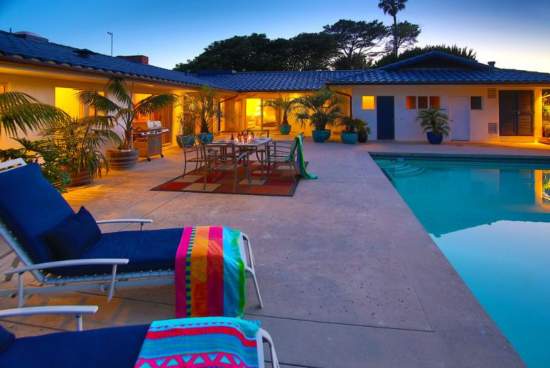 Many rooms open to the pool patio - Villa Ballena - Santa Barbara - rentals