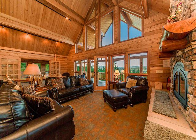 Alpine Lodge - Million Dollar Views on 6+ Private Acres! 3 for 2 Special! - Cle Elum - rentals