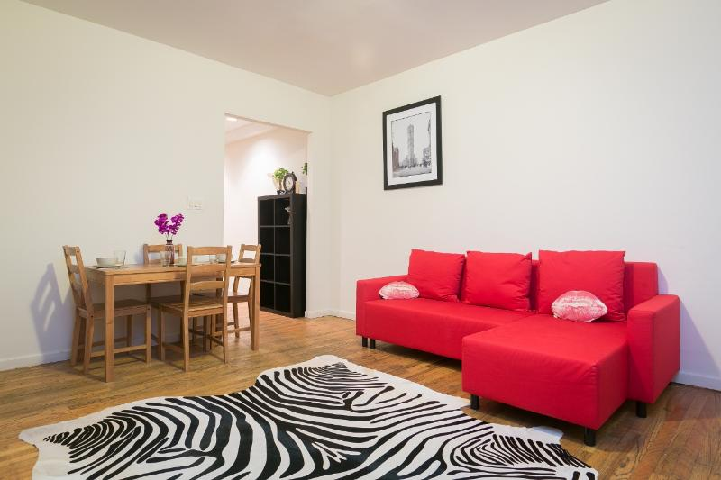 Walk to Times Square - Large Duplex Flat - Image 1 - New York City - rentals