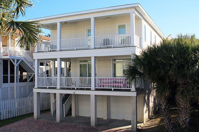 15 T.S. Chu Terrace - Chu Cottage - Bring the whole family for a great Tybee vacation - FREE Wi-Fi - Image 1 - Tybee Island - rentals
