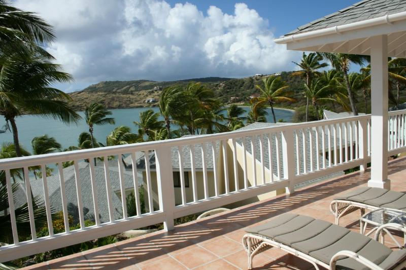 The view from the Upper Verandah / Balcony - St. James's Club, Pelican Villa, Antigua - Saint Paul - rentals