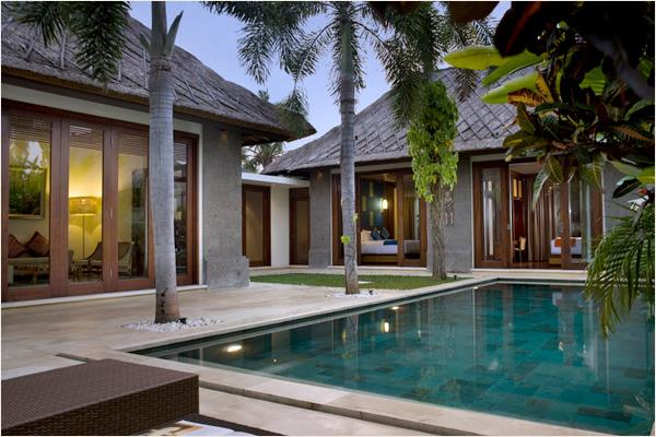 Vila view - Mahagiri, Luxury 3 Bedroom Villa, Central Sanur - Sanur - rentals