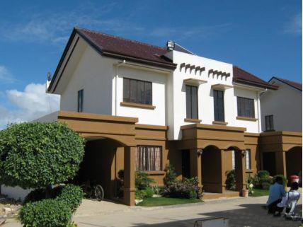 Wiev from the street - Our Magnolia house for rent at Mactan, Cebu, Phil - Cebu - rentals