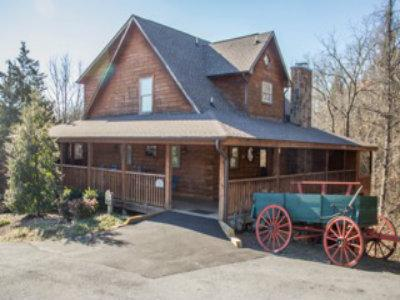 front of cabin - STUNNING LUXURY CABIN 4 FAMILY REUNIONS, RETREATS! - Sevierville - rentals
