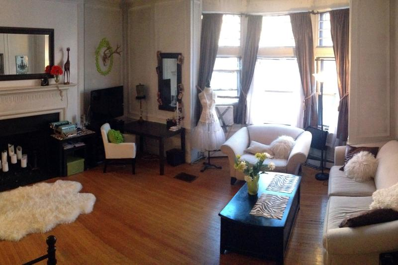 Panoramic shot of apartment. - PERFECT BACK BAY LOCATION - Hot Bkfst+Laptop+Phone - Boston - rentals