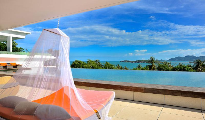 Panoramic Sea View, Beside The Beach - SJ12 - Image 1 - Choeng Mon - rentals