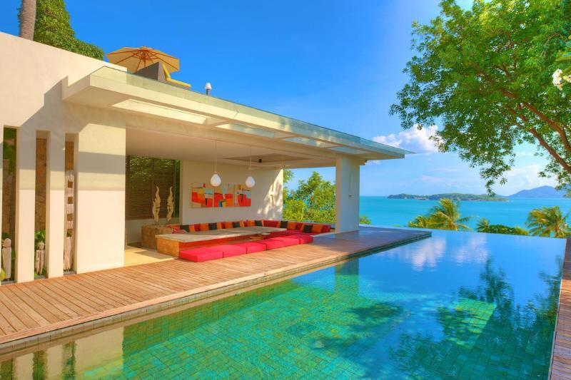 Panoramic Sea View, Beside The Beach - SJ18 - Image 1 - Choeng Mon - rentals