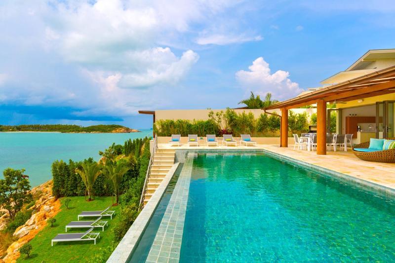 Panoramic Sea View, Beachfront - SV13 - Image 1 - Choeng Mon - rentals