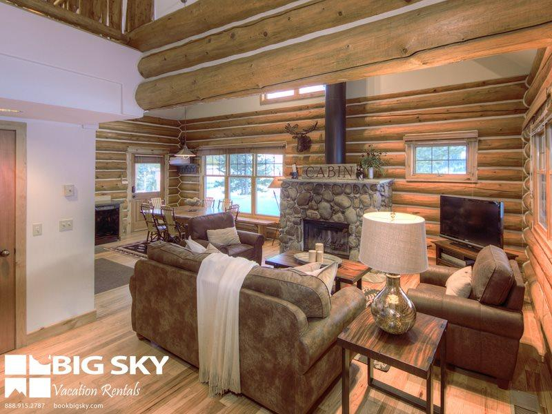 Powder Ridge Cabin 7 Moose Ridge - Image 1 - Big Sky - rentals