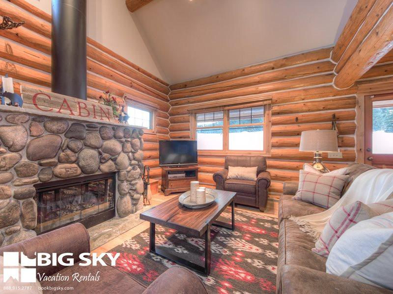 Big Sky Resort | Powder Ridge Cabin 7 Moose Ridge - Image 1 - Big Sky - rentals