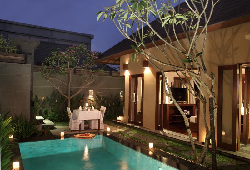villa view - Nyuh, Luxury 1 Bedroom Villa, Seminyak - Seminyak - rentals
