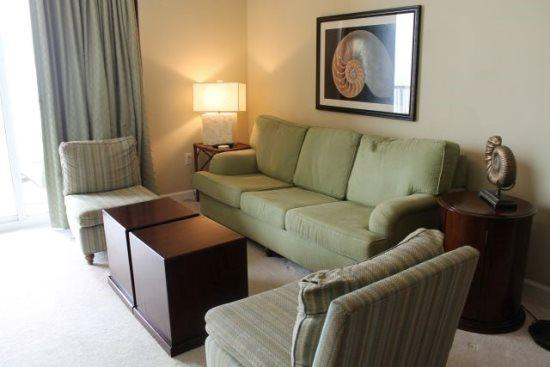 Take a break at the beach in this 2 Bedroom beachfront condo on the 13th Floor at Grand Panama Resort - Image 1 - Panama City Beach - rentals