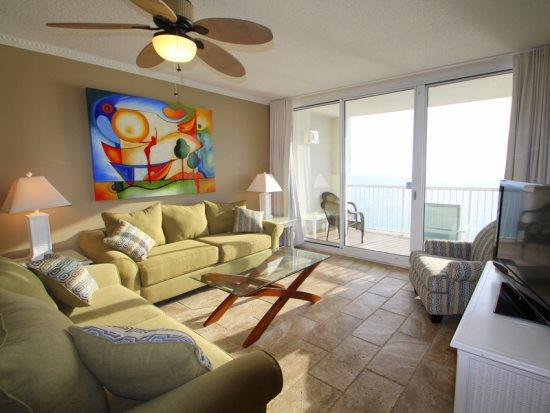 Enjoy FREE BEACH CHAIR SERVICE with rental of our Beautiful 4 bedroom / 3 bath gulf front unit with gorgeous view! - Image 1 - Panama City Beach - rentals