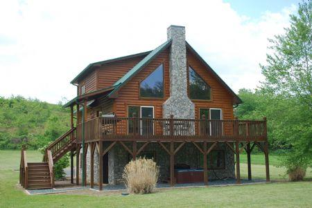 Rushing Waters - Feb-March $50 OFF 3-6 NT-Rushing Waters-Riverfront with Hot Tub - Jefferson - rentals