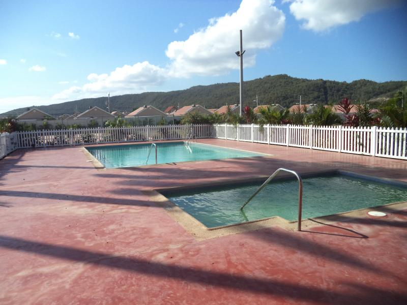 Swimming pool - Morgan's Retreat 2 BR House Gated Community - Portmore - rentals