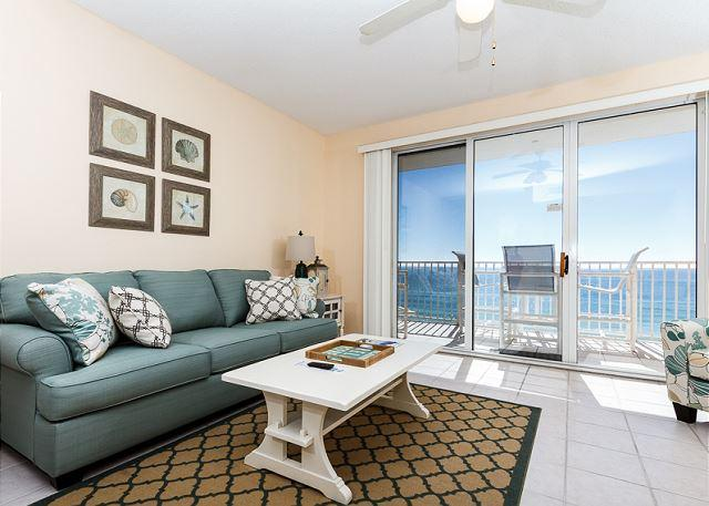 Take a seat and enjoy the marvelous views this 6th floor condo o - GD 605:NEW IN 2015 -flooring,furniture,decor! CHECK IT OUT!! TOP FLOOR!! - Fort Walton Beach - rentals