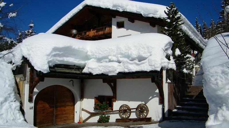 Chalet Runca offering Independent Apartment sleeping four - Family Ski Holiday Apartment in Chalet Grounds - Arosa - rentals