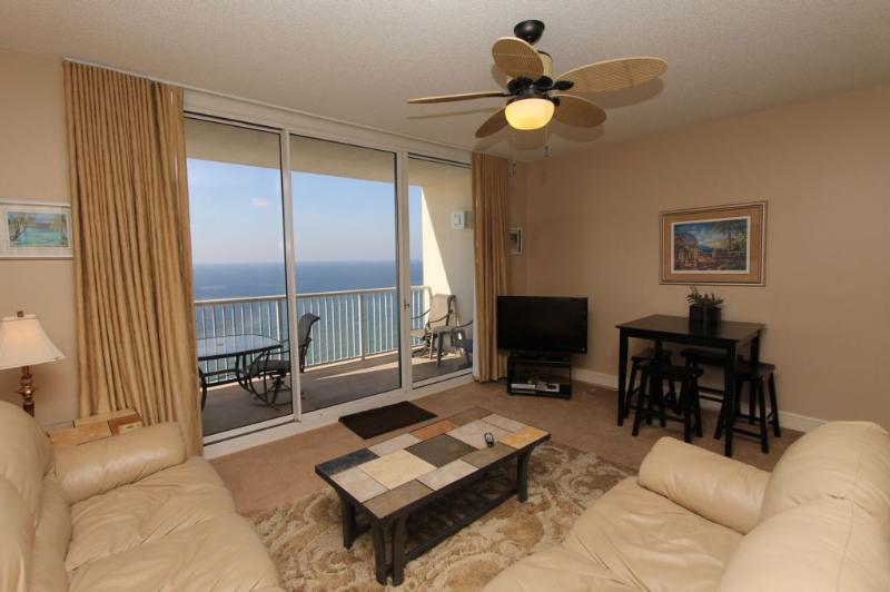Pool and Gulf Front Views at Majestic Beach Resort in Panama City - Image 1 - Panama City Beach - rentals