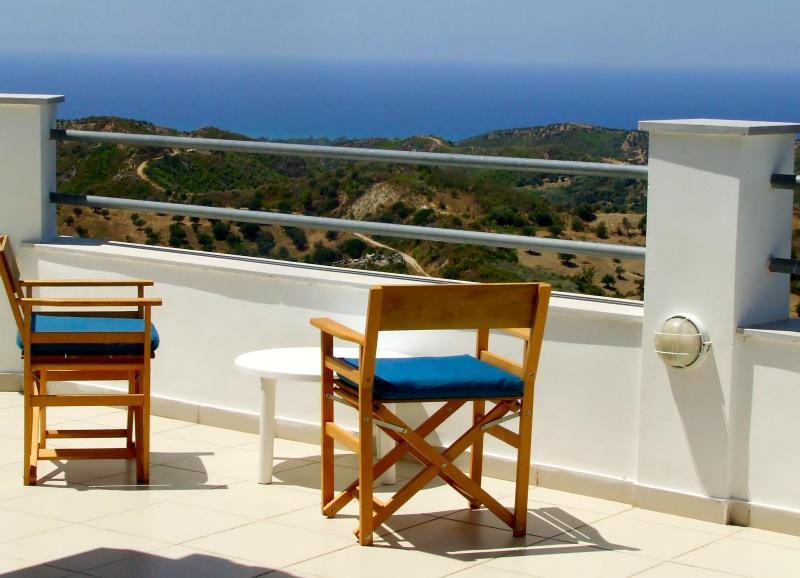 Loft apartment - Views overlooking the Ionian Sea - Image 1 - Kakovatos - rentals