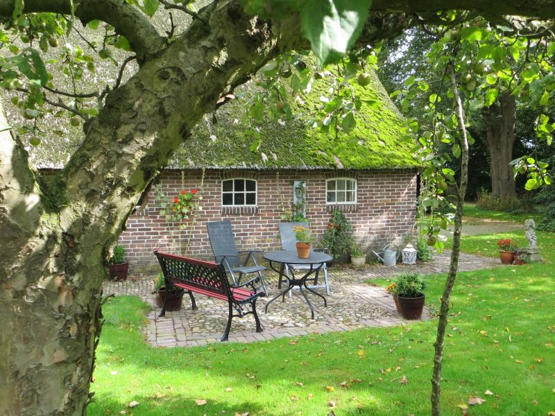 There's a lot of space and privacy around the apartment. - Holiday cottage  Onder de Linde - Zweeloo - rentals