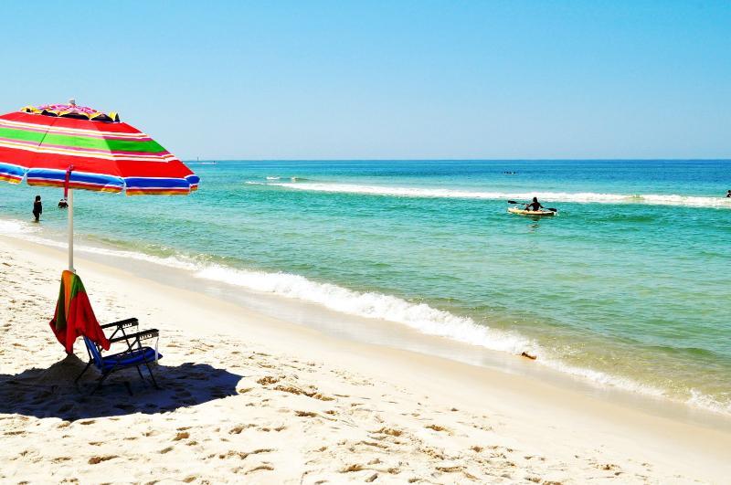 """Aqua Vista Unit 304W"" Gulf Front, Georgeous Sunsets!! - Image 1 - Panama City Beach - rentals"