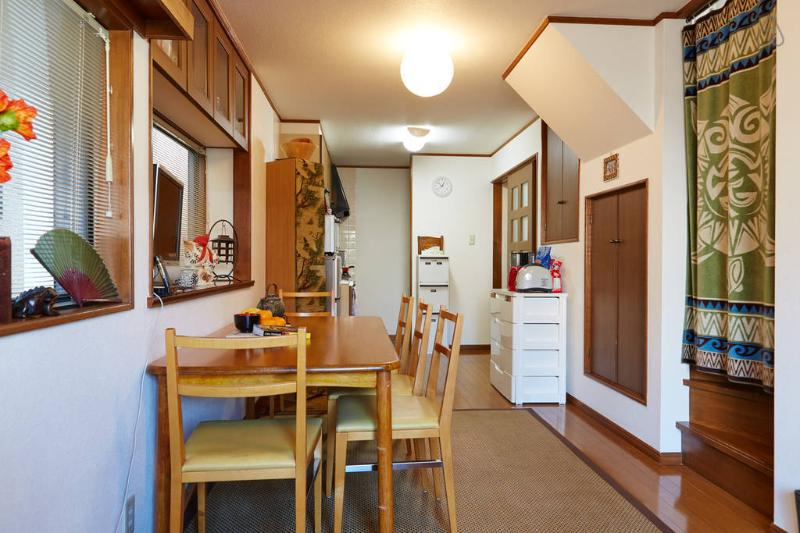 Living Room and Dining Kitchen - Private House Heart of Tokyo! 4 Sleeping Rooms! - Tokyo - rentals