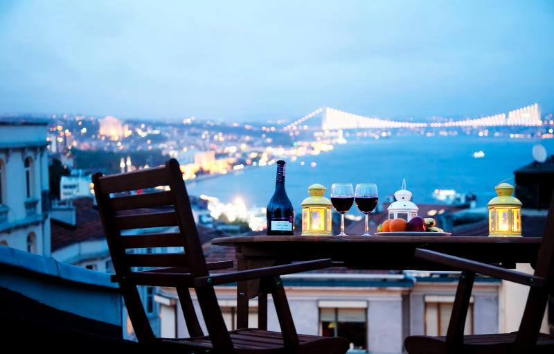 TAKSIM ULTRA VIP APARTMENTS - KING TERRACE SUITE - Image 1 - Istanbul - rentals