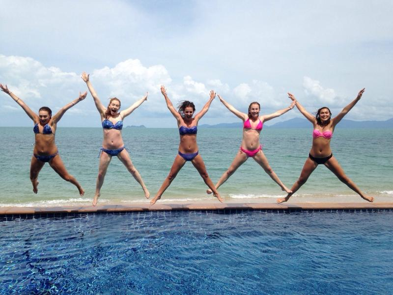 Girls just wanna have fun! - 5-bedroom Luxury Right on the Beach! - Mae Nam - rentals