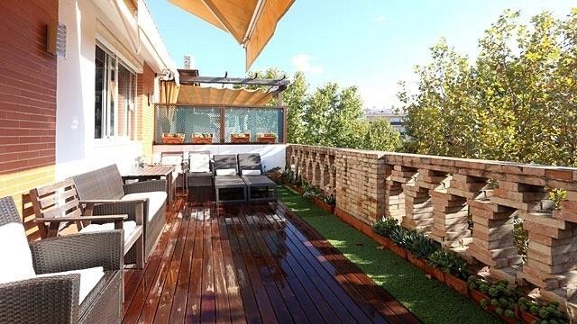 Terrace - Central 3-Bedr Terraced Penthouse. WiFi & Cable TV - Seville - rentals