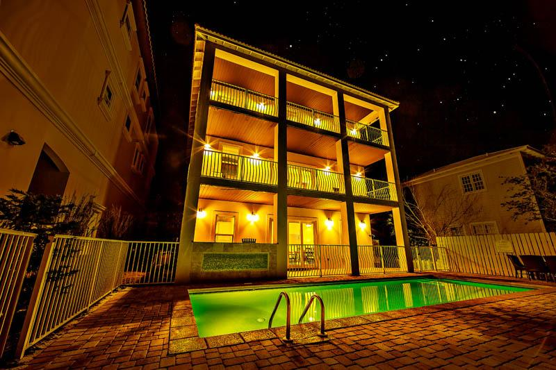 Calypso 9 Bedroom Beach Home. New Outdoor Ktichen! - Image 1 - Destin - rentals