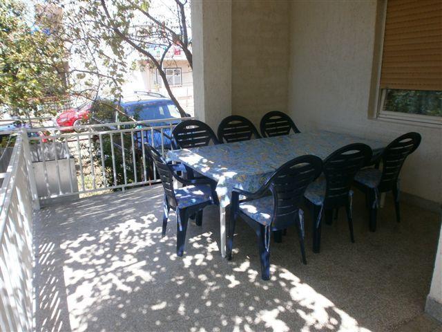 A1(7): garden terrace - 00706PIRO  A1(7) - Pirovac - Pirovac - rentals
