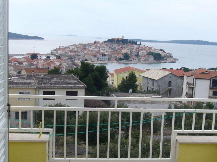A2 PRAVO(2+2): balcony view - 2849  A2 PRAVO(2+2) - Primosten - Primosten - rentals