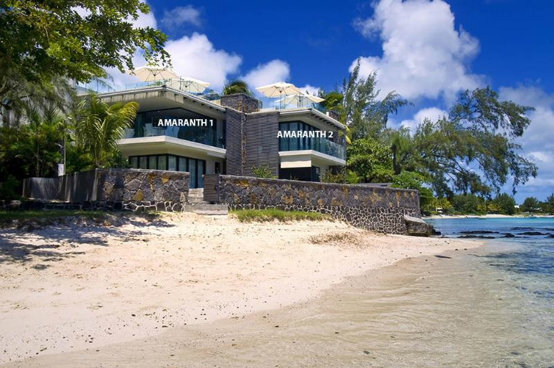 AMARANTH 1 & 2 - Amaranth 2, Ultimate Beachfront Apartment. - Belle Vue Maurel - rentals