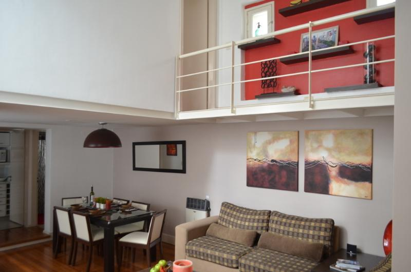 "Living / Dining - ""Palermo Soho Loft - Close to All! - Buenos Aires - rentals"