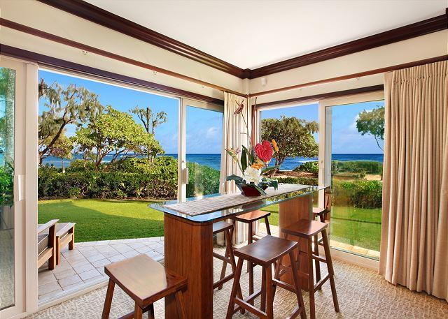 King Waipouli!** BEACH FRONT Large Yard, large floor plan CALL NOW - Image 1 - Kapaa - rentals