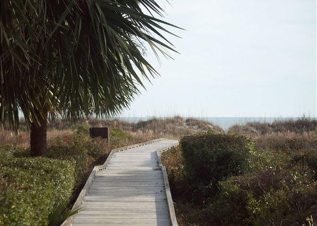 Boardwalk - Beach Villa 13 - Oceanside Townhouse - Recently Updated - Hilton Head - rentals