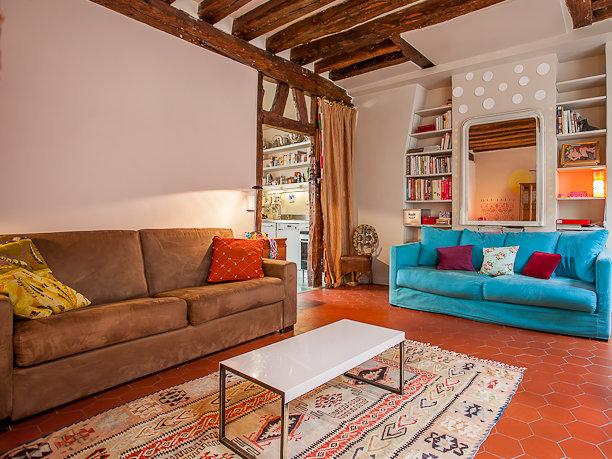 Lovely Saint Germain 1 bedroom apart., 4 sleeps - Image 1 - Paris - rentals