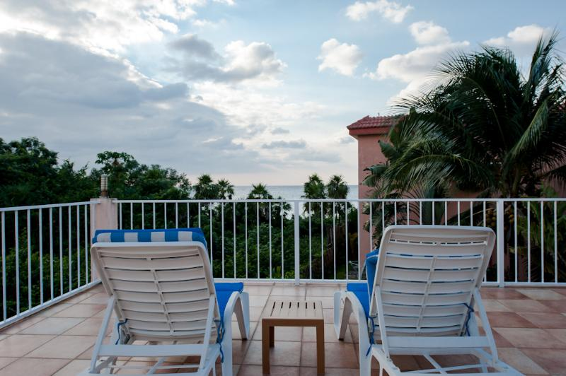 Your Tango del Mar terrace, perfect place to relax in Cozumel - Casa Perfect for Families & Small Groups - B1 - Cozumel - rentals
