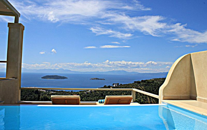 Villa Zaki 5 with private swimming pool - Image 1 - Skiathos Town - rentals