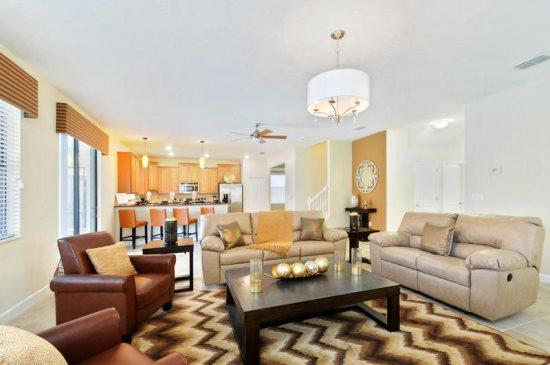 Outstanding 6 Bedroom 6 Bathroom Home in Champions Gate. 9028SMS - Image 1 - Orlando - rentals