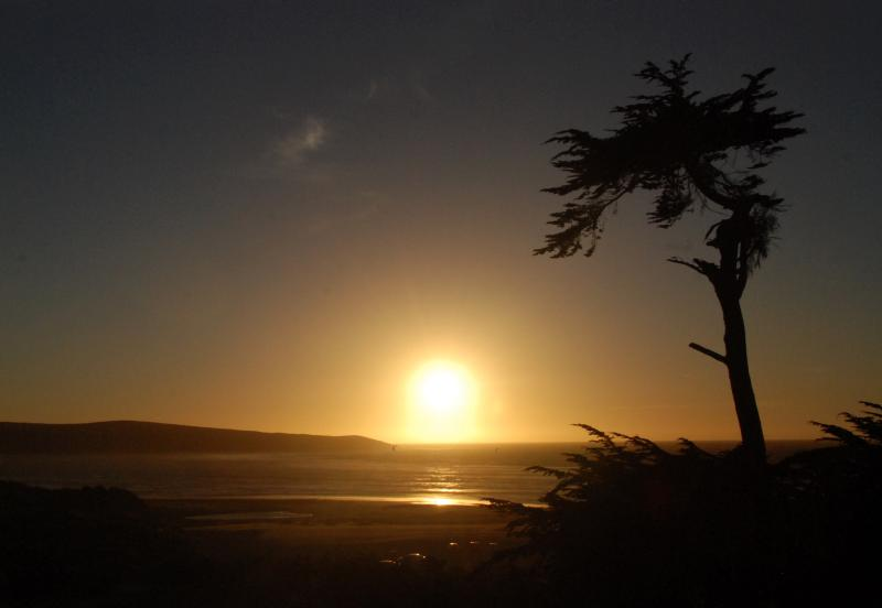 Beach Sunsets are Magical.  This is Overlooking Pt. Reyes National Seashore - Large, Family Friendly Beach House - Views!! - Dillon Beach - rentals