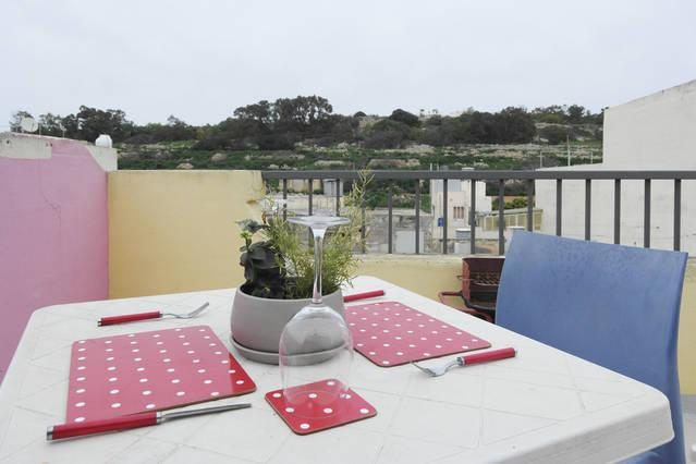 5 min to Centre and Beach - AP4 - Studio Penthouse - Image 1 - Marsascala - rentals