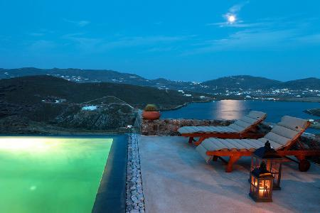 Charming Panormos Retreat nestled hillside with dazzling sea views & infinity pool - Image 1 - Panormos - rentals