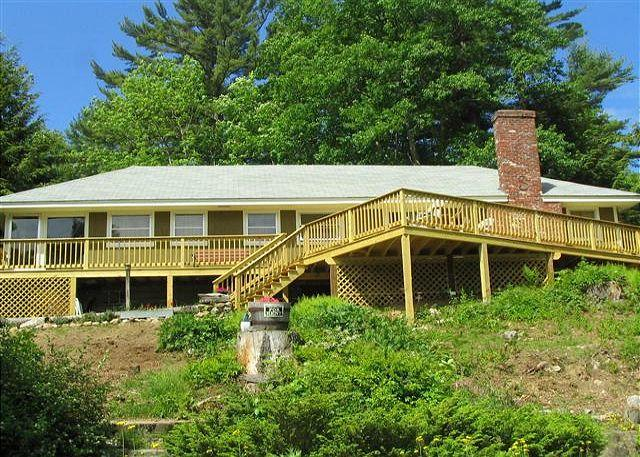 Exterior view - Beach Access with VIEWS, Winnipesaukee (SOR7B) - Meredith - rentals