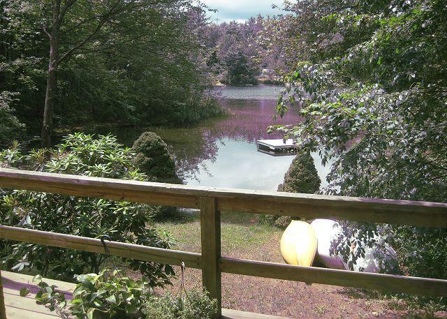 View of Lake - A wonderful getaway on Lake Kanasatka (HAR19W) - Moultonborough - rentals