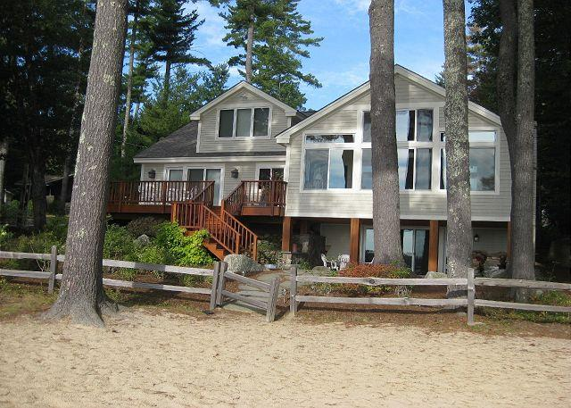 Exterior - Waterfront Gem on Lake Winni (KRE10Wf) - Meredith - rentals